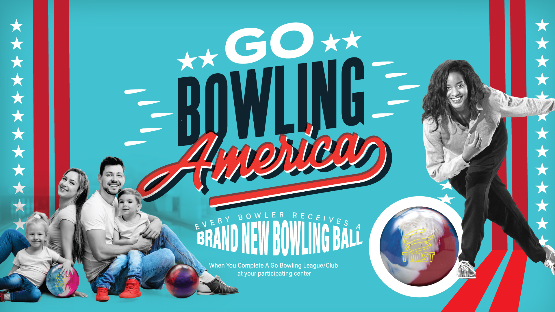 Gobowling America Banner